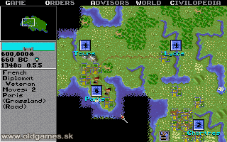 Sid Meier's Civilization - PC DOS