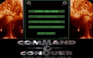 PC, Title and Main menu