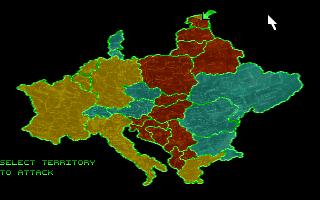 PC, Map - selecting territory