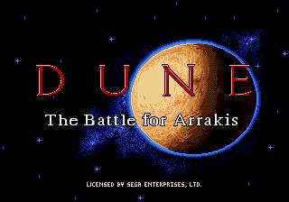 Genesis / Mega Drive - Title