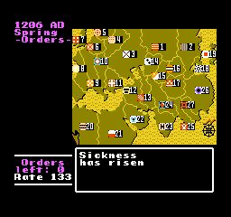 NES, Mapa světa