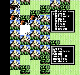 NES, Bitva - útočníci
