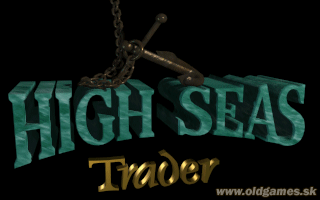 High Seas Trader - PC DOS, Title