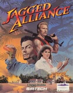 Jagged Alliance - Front cover