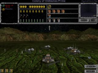 Master of Orion II: Battle at Antares - PC DOS, Colony of OldGames Prime
