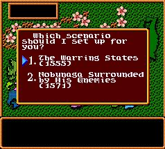 SNES, Selecting Scenario