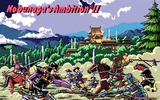 Nobunaga's Ambition II - PC DOS, Intro