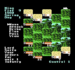 NES - bitva