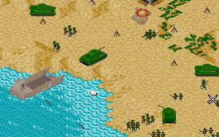Offensive - PC DOS, Normandy landings