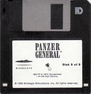 Panzer General - floppy disk 5/5