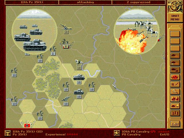 PC, Pz 35(t) vs. Cavalry