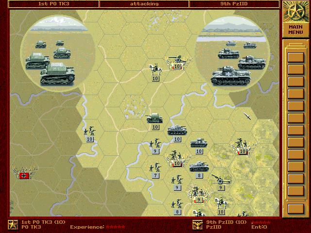 PC, Tank units