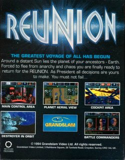 Reunion - Box scan - Back