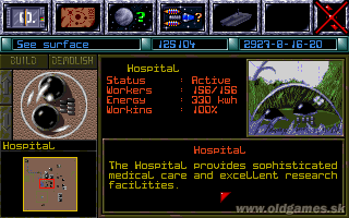 PC, Hospital