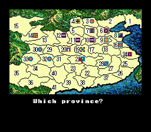 Genesis, mapa Číny
