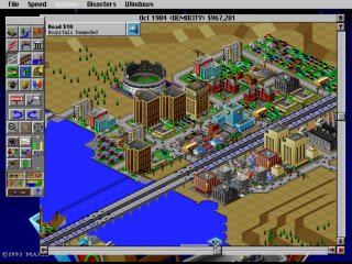 SimCity 2000 - PC DOS