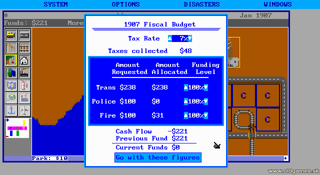 PC DOS, Tax rate