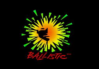 SEGA Genesis, Balistic Logo