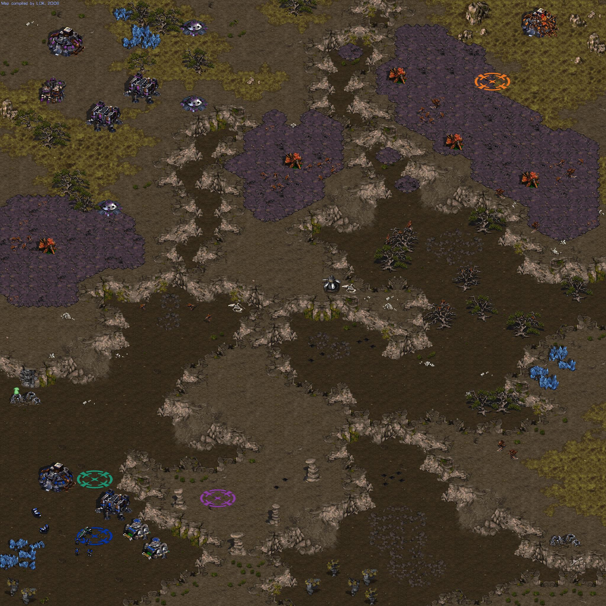 StarCraft Maps: Campaign Episode I - Terran (png) :: DJ OldGames