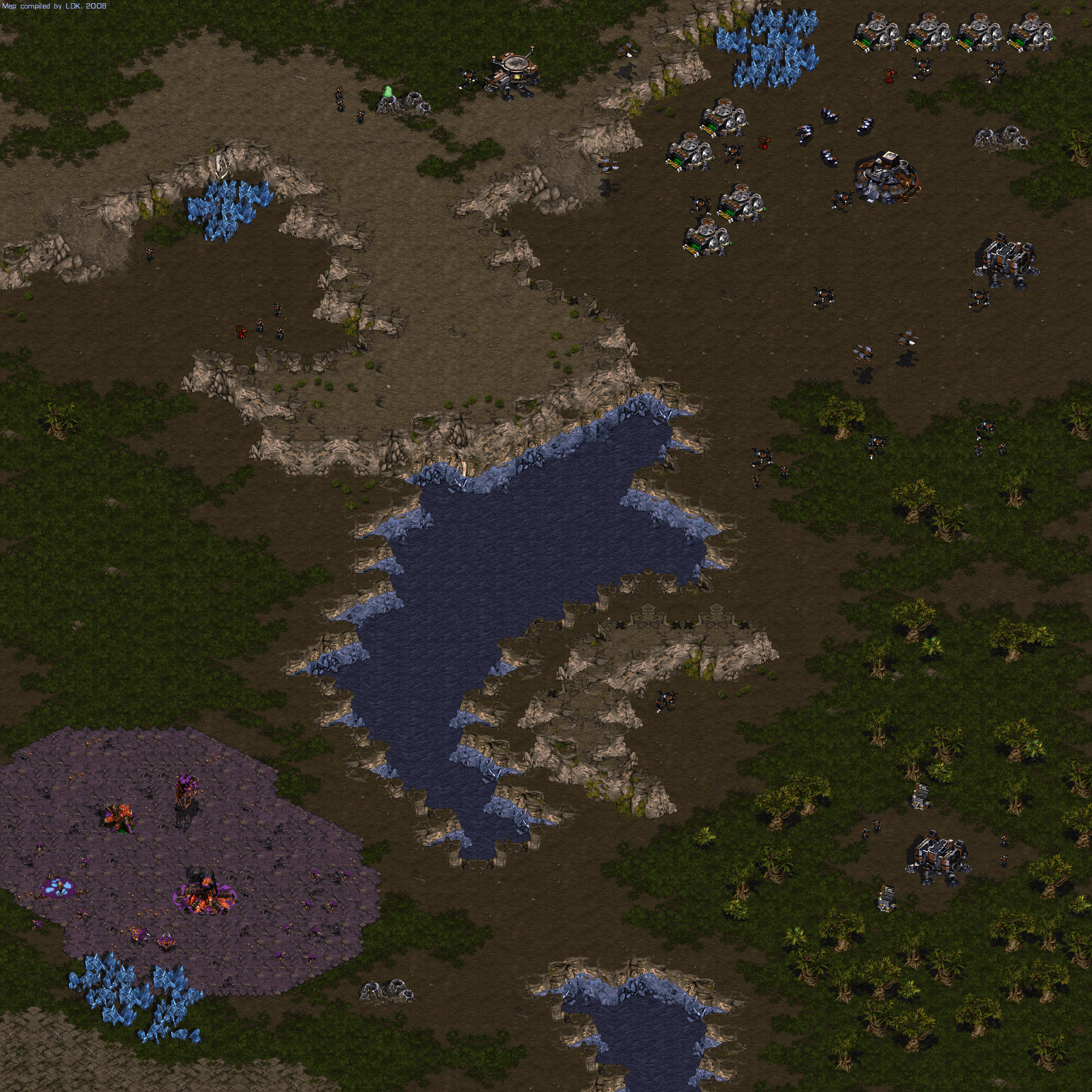 StarCraft Maps: Campaign Episode II - Zerg (png) :: DJ OldGames