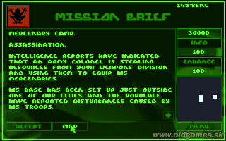 PC, Mission Brief