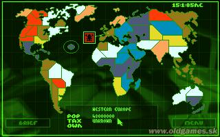 PC, World map