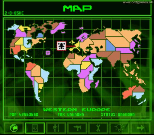 SNES, World map