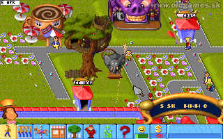 Theme Park - PC DOS
