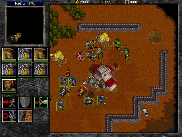 Warcraft Ii Tides Of Darkness Screenshots Dj Oldgames