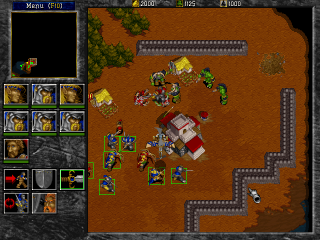 Warcraft II: Tides of Darkness - PC DOS, Battle
