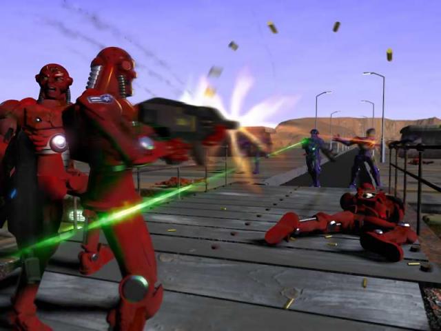 Z Themes (render) - Storming a bridge